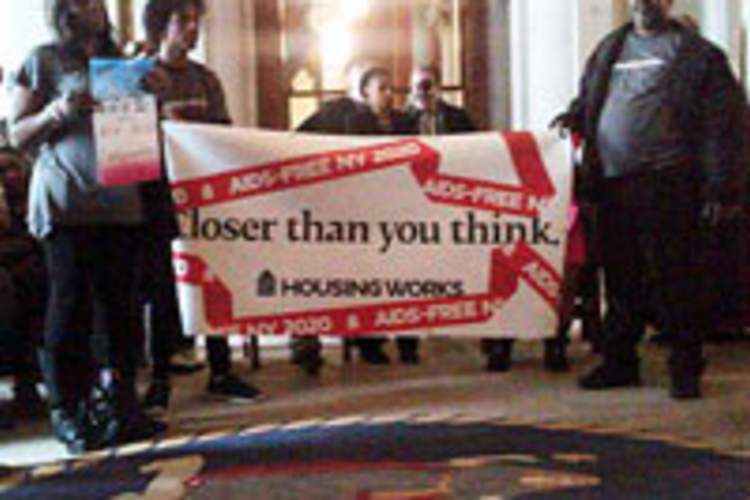 AIDS Activists Rally at the Capitol: An AIDS-Free NY Is Within Our Reach! Img