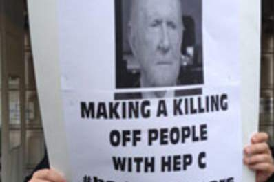 Hedge Fund Billionaires Are New Target for Hepatitis C Cure Protests Img