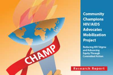 CHAMP: Mobilizing People Living With HIV and Allies to Champion HIV Prevention and Care in Ethno-Racial Communities Img
