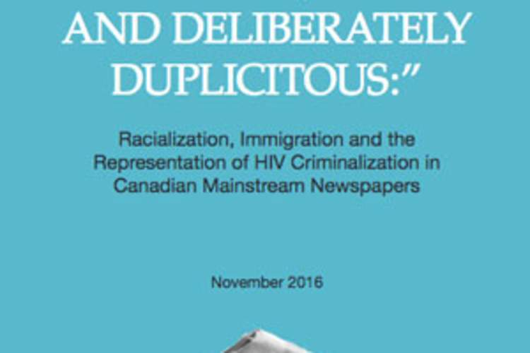 Report Reveals Long-Standing Anti-Black Bias in Canadian HIV Criminalization Reporting Img