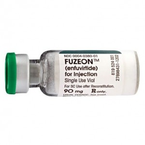 Fuzeon bottle
