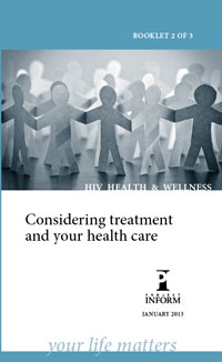 Considering Treatment and Your Health Care
