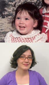 Me in 1984 and 2010. I still look basically the same, right?