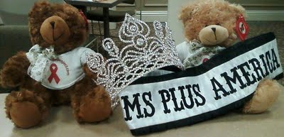 Become a Fan on 2011 Ms. Plus America on Facebook