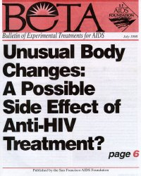 Unusual Body Changes: A Possible Side Effect of Anti-HIV Treatment?