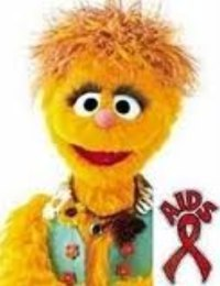 Kami the HIV-positive Muppet.