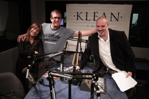 KLEAN Radio hosts with guest Sherri Lewis. Photo credit: Patrick Kennedy.