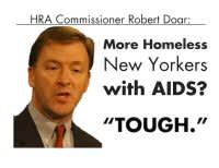 HRA Commissioner Robert Doar: More Homeless New Yorkers with AIDS? 'Tough.'