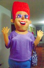 Tia IRMA (Auntie IRMA), created by IRMA's chapter in Peru to create awareness about rectal microbicides in a fun way.