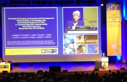 Judith Feinberg, M.D., presents at EACS 2013