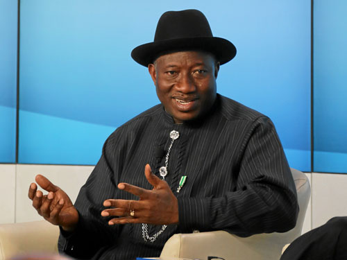 President Goodluck Jonathan signed the Same-Sex Marriage Prohibition Act on January 7. (Photo: World Economic Forum)