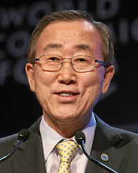 UN Secretary General Ban Ki-moon denounced the law, stating it would 'fuel violence.' (Photo: World Economic Forum)