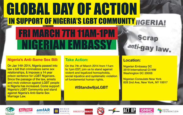 Global Day of Action in Support of Nigeria's LGBT Community
