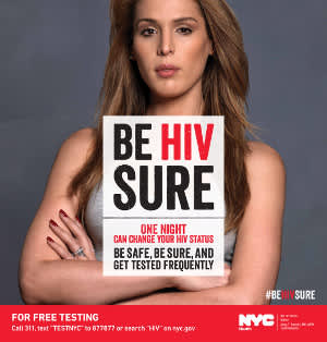 New York City DOH's 'Be HIV Sure' Campaign