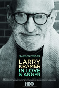 Poster for the film <i>Larry Kramer in Love & Anger</i>
