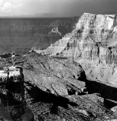 Tseng Kwong Chi, Grand Canyon, 1987