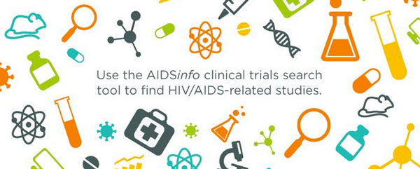 Use the AIDSinfo clinical trials to to find HIV/AIDS-related studies