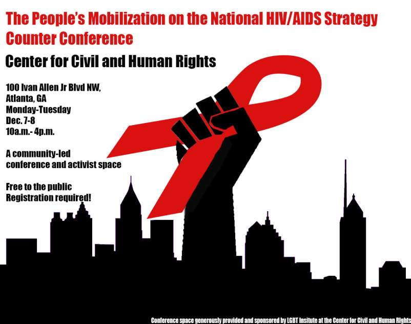 The People's Mobilization on the National HIV/AIDS Strategy Counter Conference
