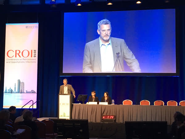 Joel Gallant, M.D., M.P.H., presents 48-week results at CROI 2016.