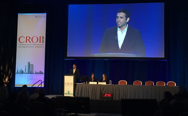 David A. Margolis, M.D., presents 32-week results of the much anticipated long-acting injectable study (LATTE-2) at CROI 2016.