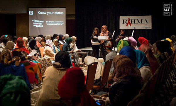 RAHMA HIV education event (Credit: Ctrl ALT Del Photography)