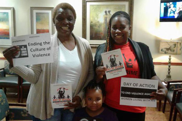 Women Around the Nation Speak Up for the Day of Action to End Violence Against Women Living With HIV