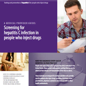 Hepatitis C Infection and People Who Inject Drugs