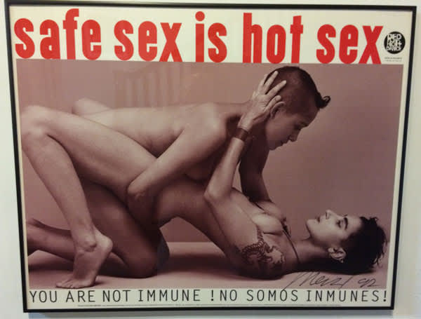 Safe Sex Is Hot Sex poster
