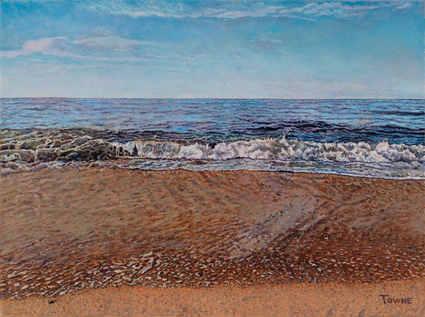 George Towne, 'Fire Island Morning, Ocean'