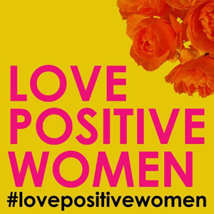 Love Positive Women logo