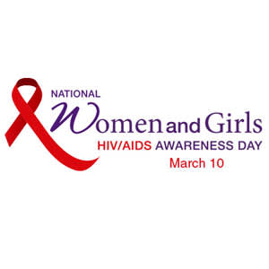 National Women and Girls HIV/AIDS Awareness Day logo