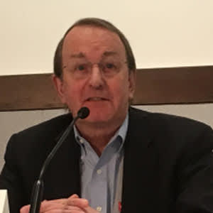 Richard Chaisson at the CROI 2018 press conference