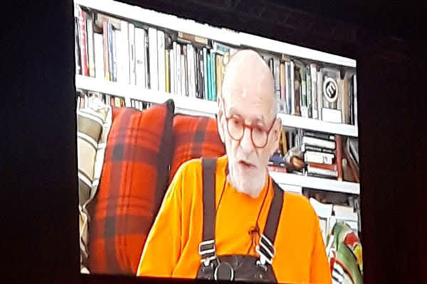 Larry Kramer video address