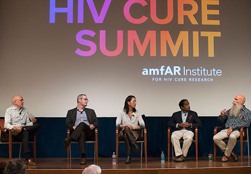 Jeff Taylor at amfAR's 2017 World AIDS Day HIV Cure Summit