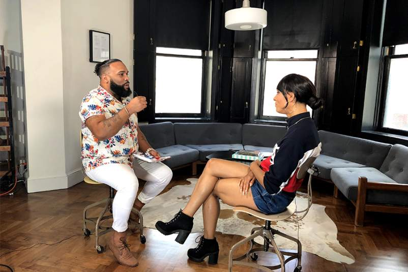 Louie Ortiz-Fonseca interviews actress Mj Rodriguez