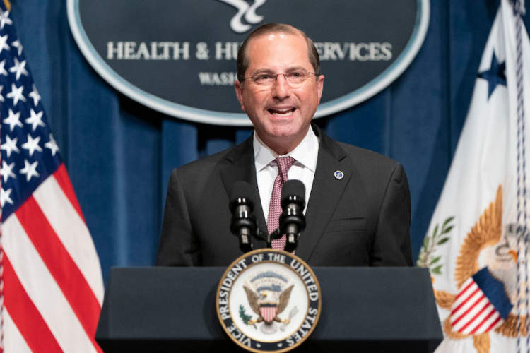 HHS Secy Alex Azar