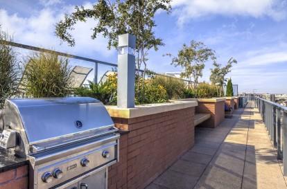 Metro rooftop outdoor grills