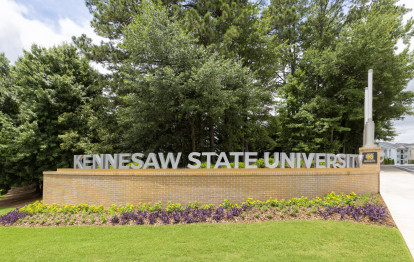 Kennesaw State University located only a mile from the community