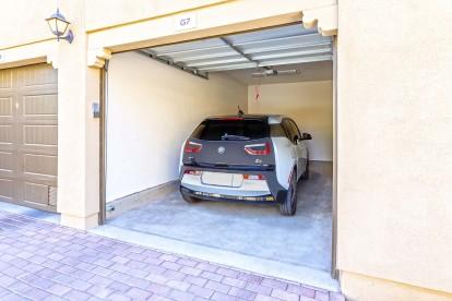 Attached private garage