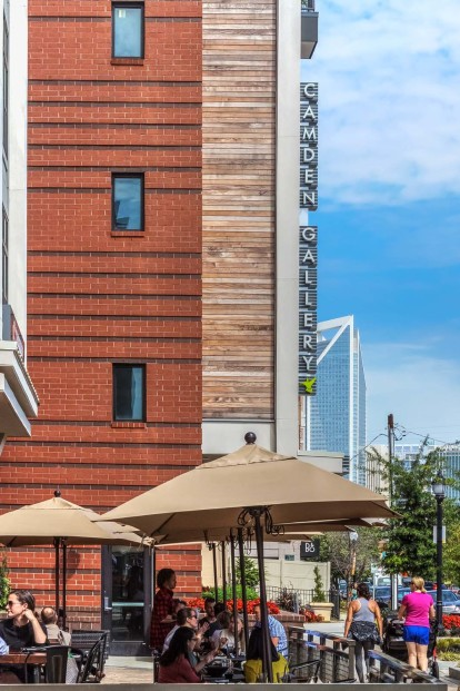 Restaurants near Camden Gallery Apartments in Charlotte, NC