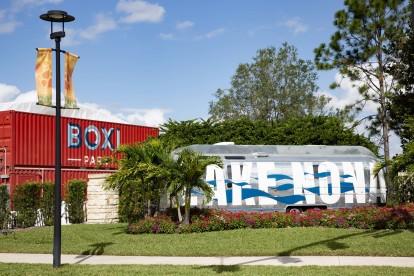 Boxi park outdoor restaurants and bars in lake nona