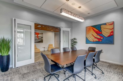 Amenity conference room space