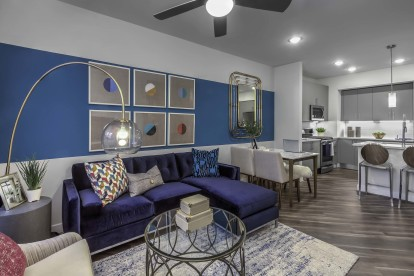 Living dining open concept