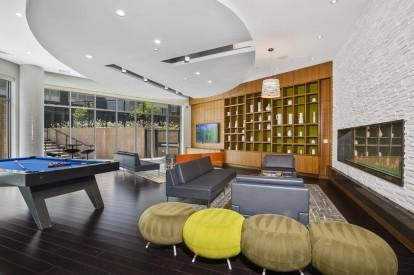 Resident lounge with billards