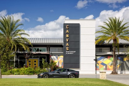Canvas restaurant and market in lake nona