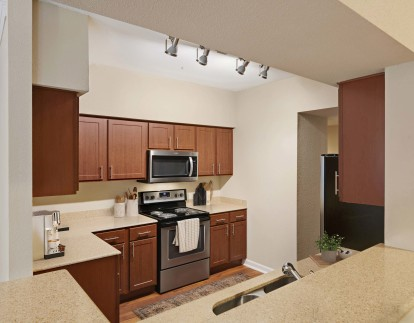 Classic finishes kitchen with lots of storage