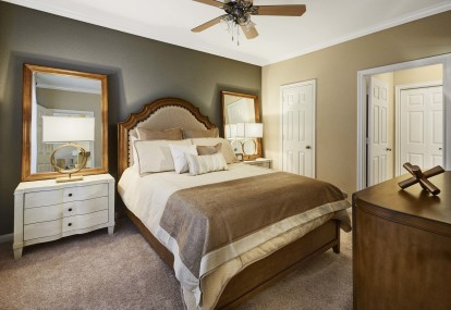 Expansive main bedroom