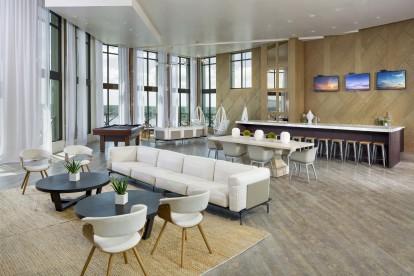 Sky lounge with billiards