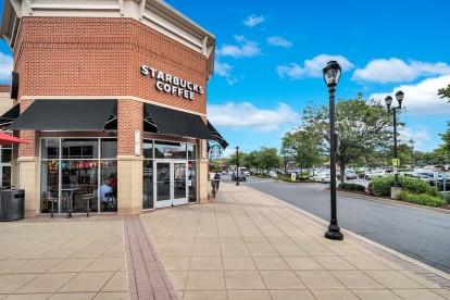 Starbucks in Fallsgrove Village Center
