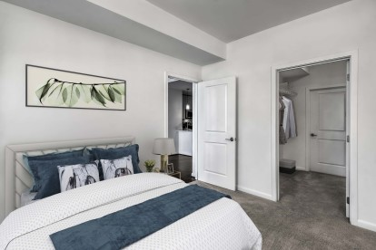 Large bedroom and spacious walk in closet